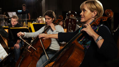 Stillfoto fra video om Rekviem / Requiem på Griegakademiet, brukt ifm videoom...