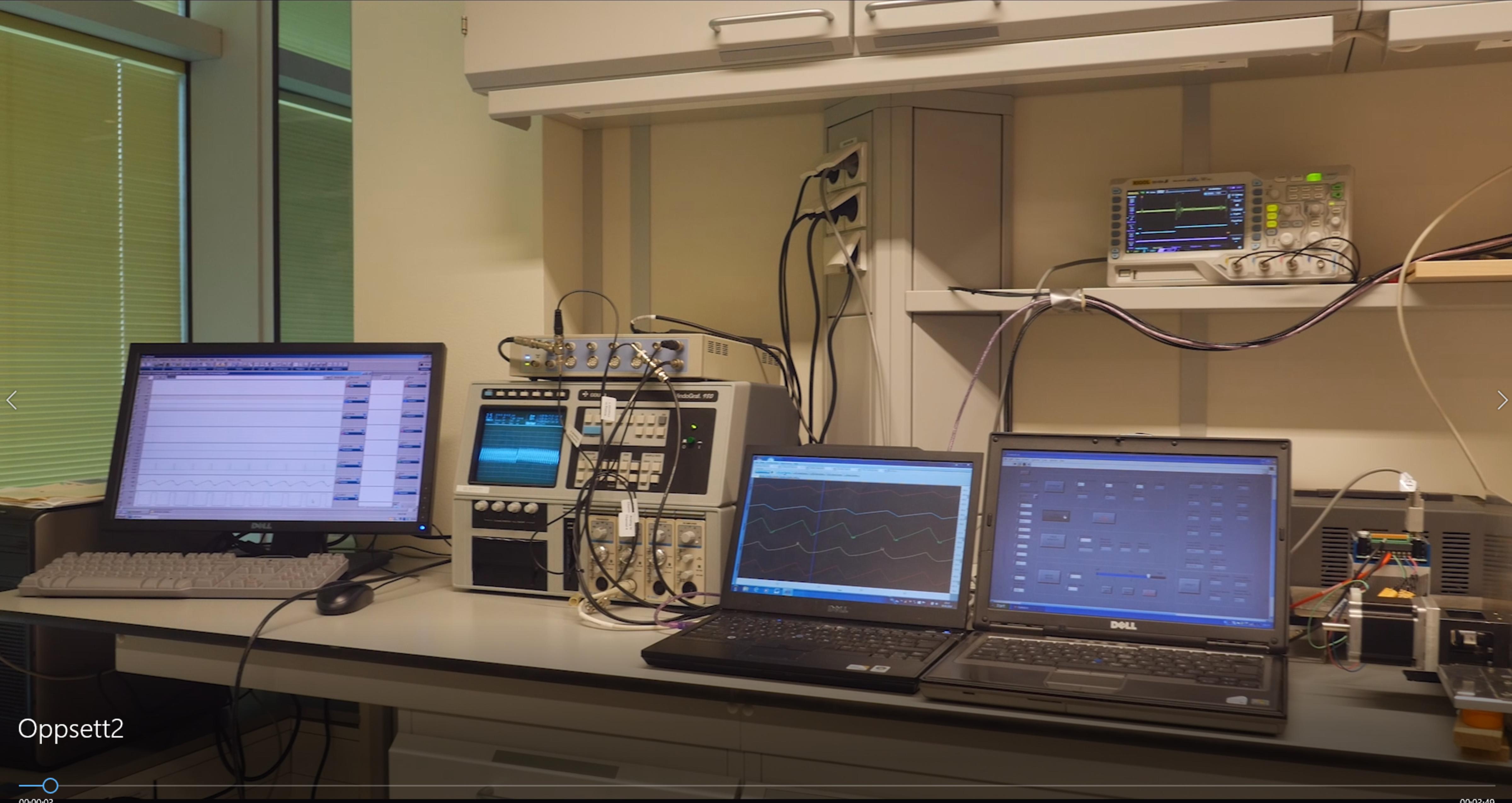 Instrumentering for styring av pumpe og referansemetode