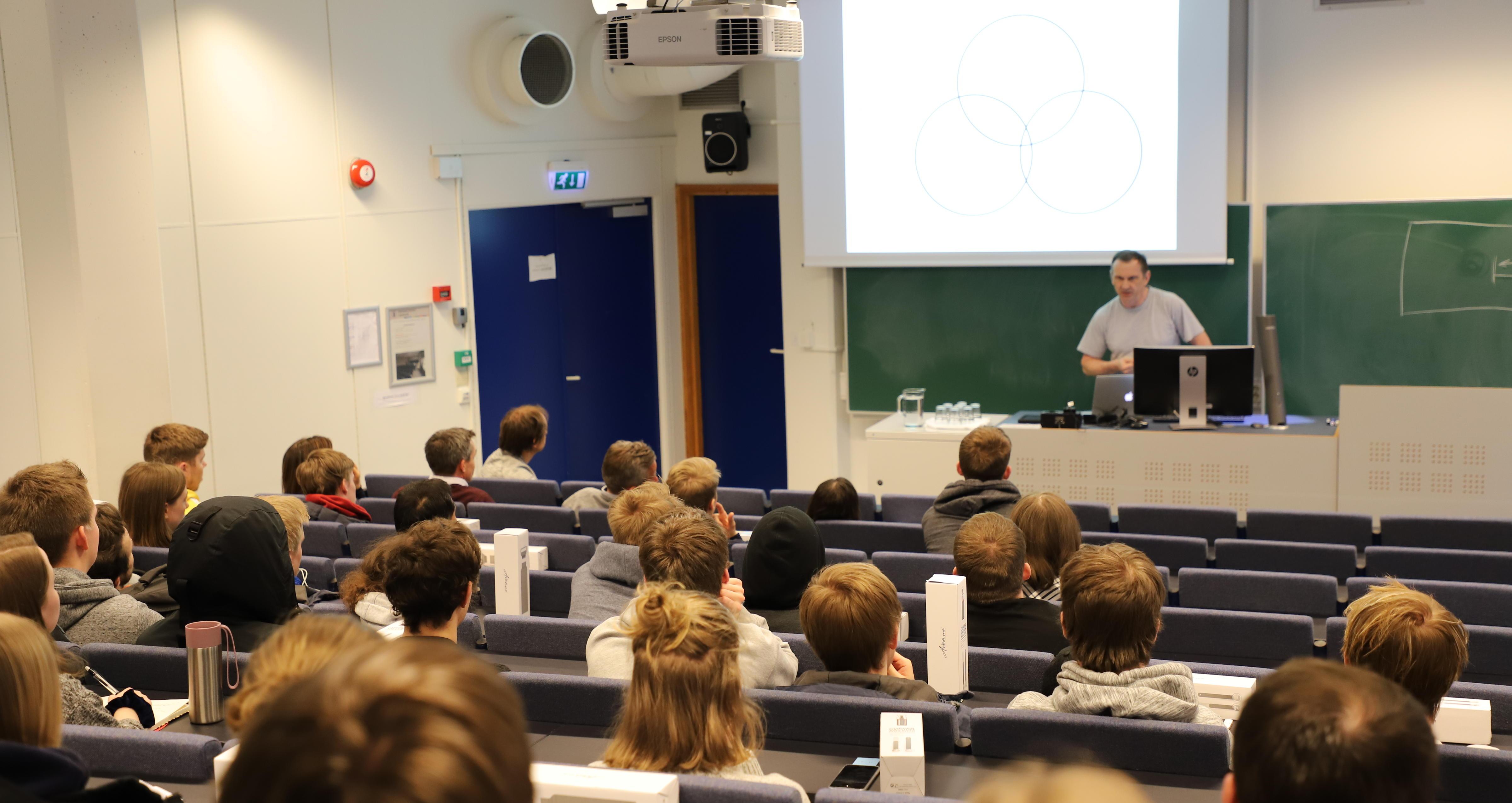 Michal Walicki forteller om studiemuligheter