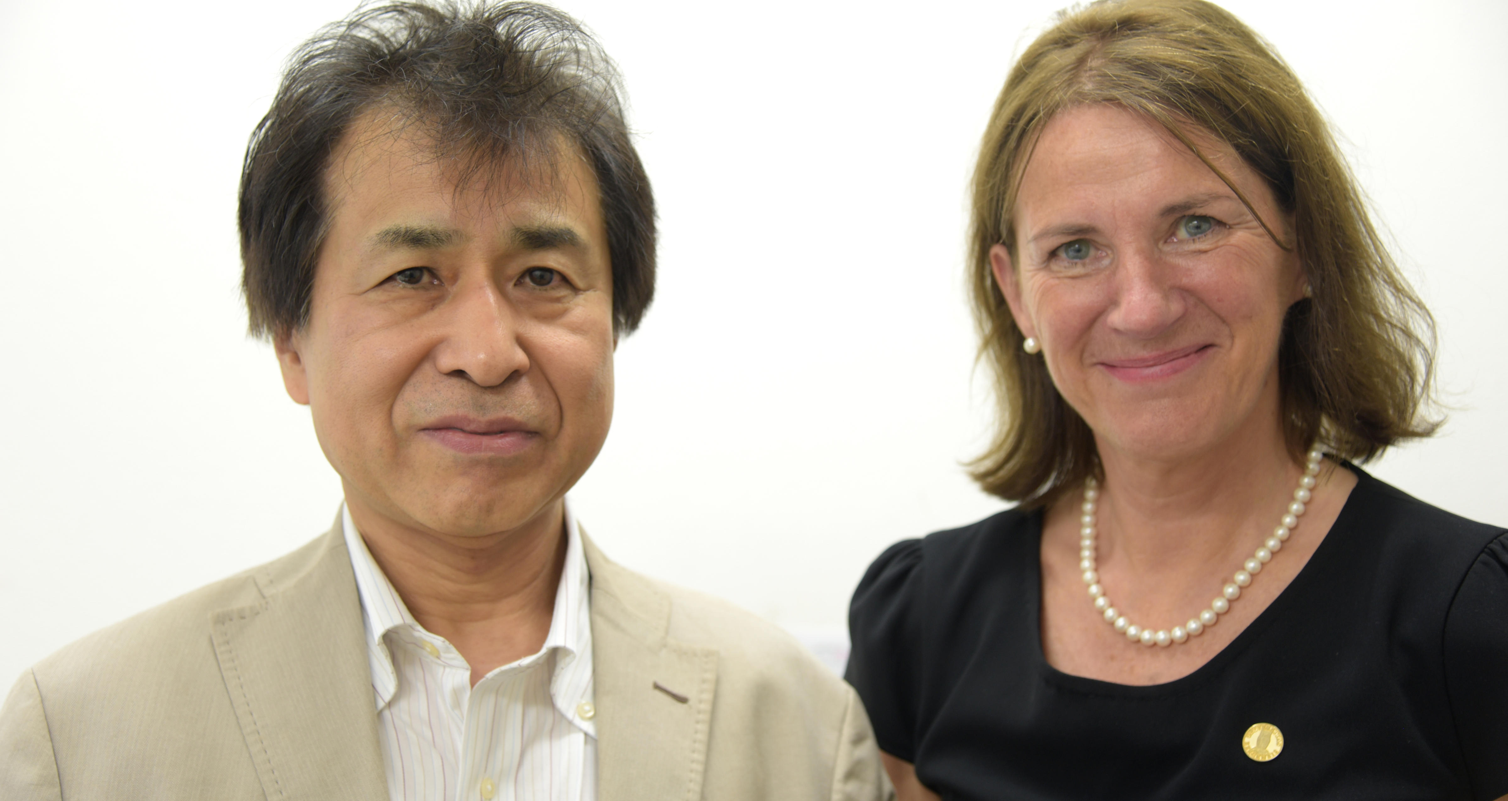 Kimiya Ishikawa og Bettina S. Husebø