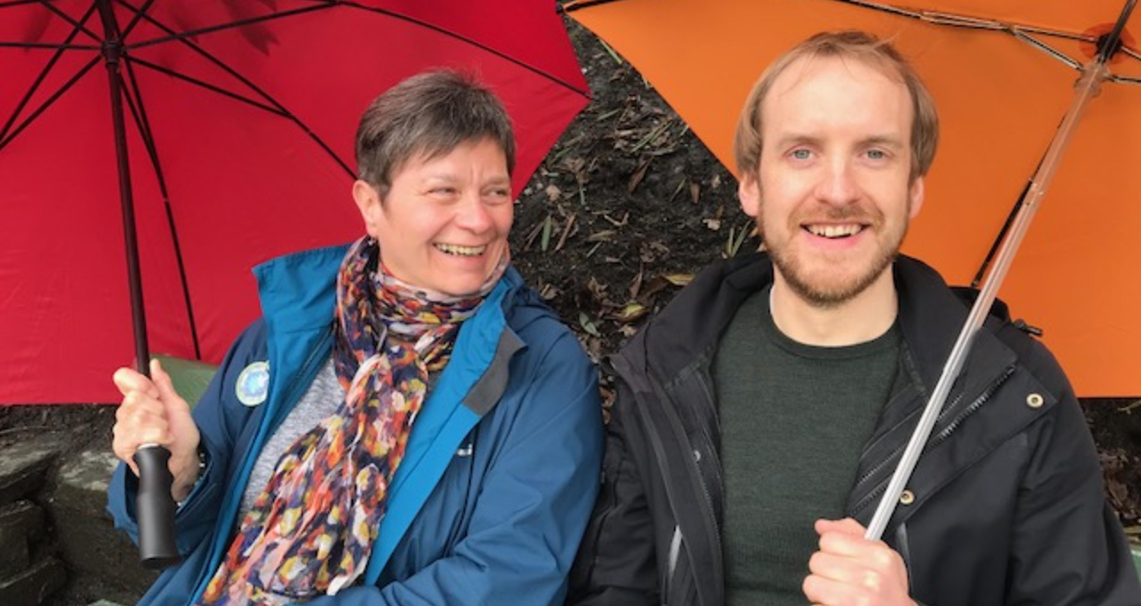 Gisela Böhm and Rouven Doran