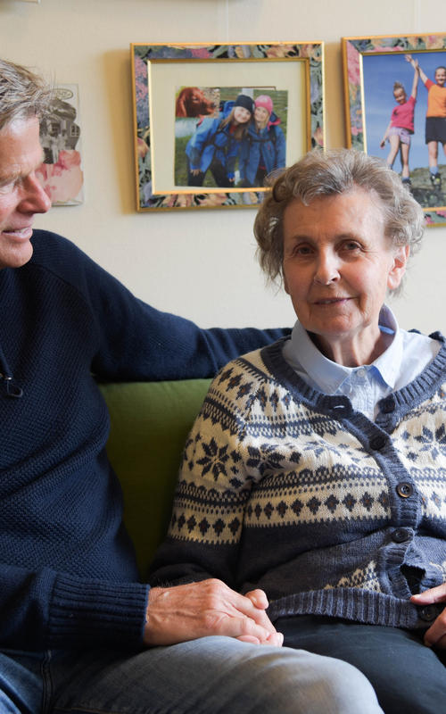 Rune og Kirsten Samdal