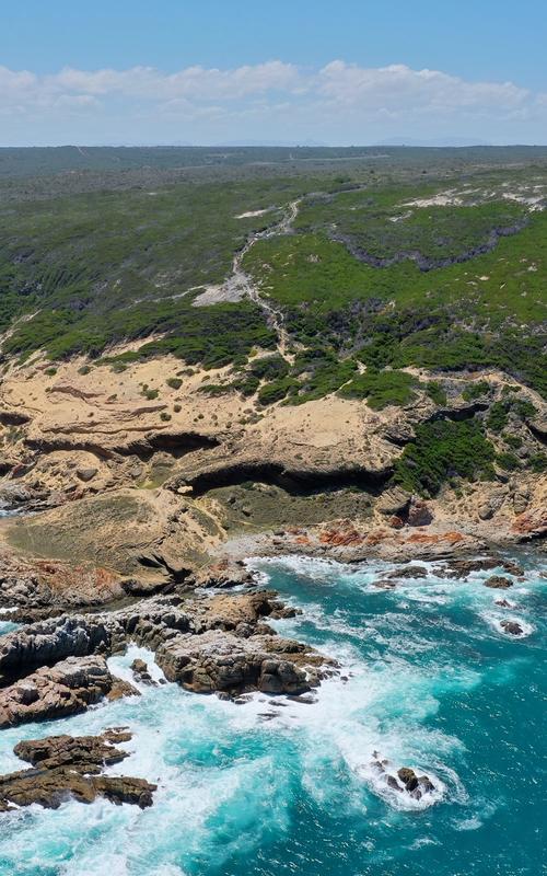 Utsiktsbilde Blombos Cave