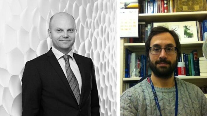 Anders Thue og Albert Sanchez Graells