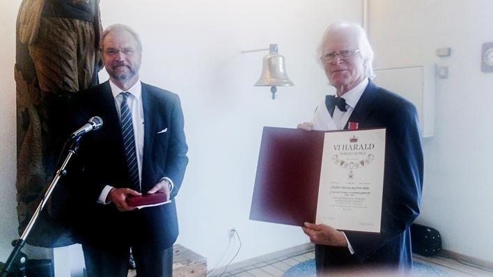 Jan Sponheim og Jan Petter Blom