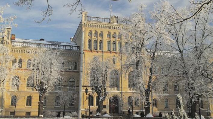 Universitetet i Latvia Hovedbygning