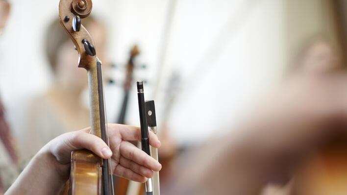 Bilde av en fiolin