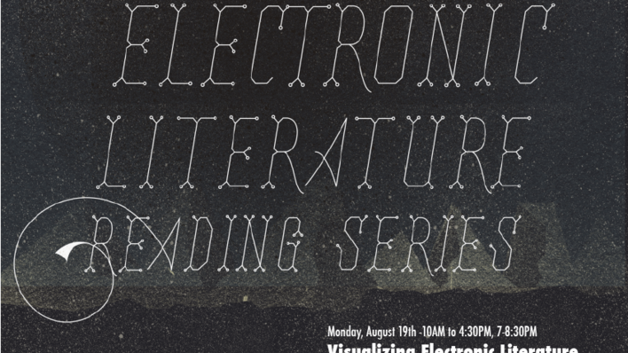 Digital Arena Electronic Literature Reading Series 2013 poster