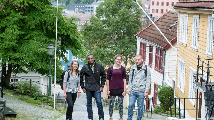 Exchange students at UiB