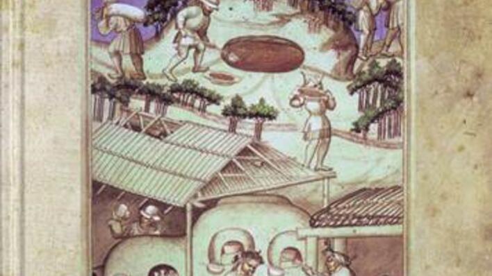 Bok om middelsalderens hverdagsprodukter, mennekser og handel