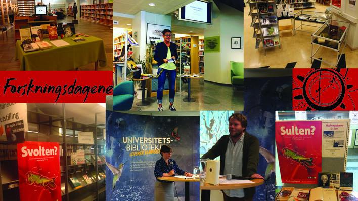 Forskningsdagene på Universitetsbiblioteket