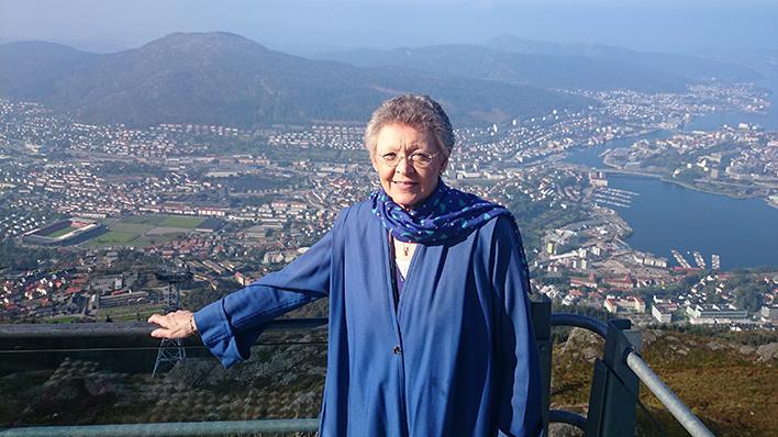 Françoise Barré-Sinoussi - utsikt frå Ulriken