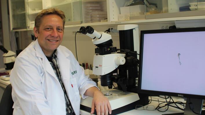 Researcher Andreas H. Hejnol, Sars International Centre for Marine Molecular Biology, University of Bergen (UiB).