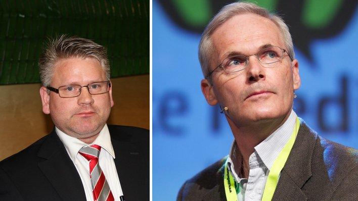 Erling Hjelmeng og Lars Sørgard