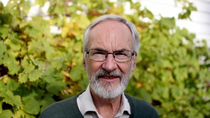 Portrettfoto av Sverre Håkon Bagge