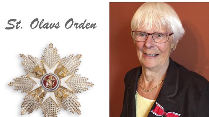 Karen helle har fått St.Olavs Orden