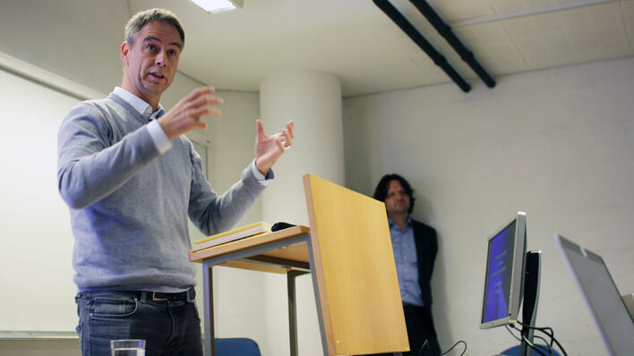 Jens Kjeldsen foreleser