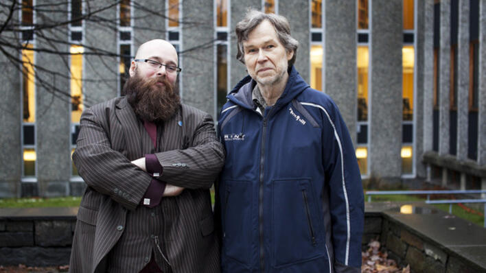 Kristian Bjørkelo og Ivar Utne