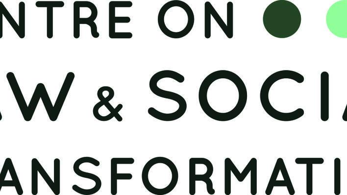 Logo til Centre on Law & Social Transformation