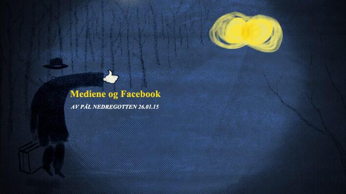 """Mediene og Facebook: """"It's complicated"""""""