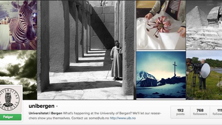 Skjermbilde fra Instagram.com/Unibergen