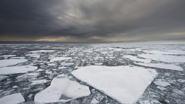 isflak i havet