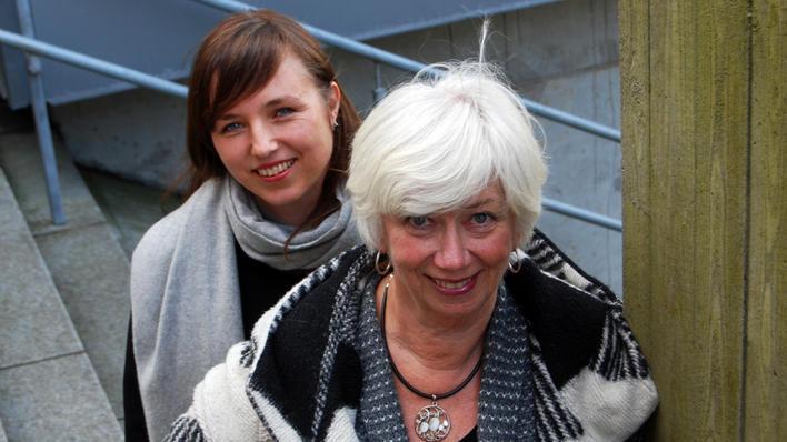 Thelma Kraft og Kristin Svartveit