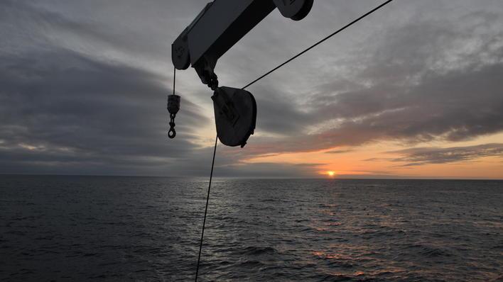 Fra tokt i Nord-Atlanteren 2012