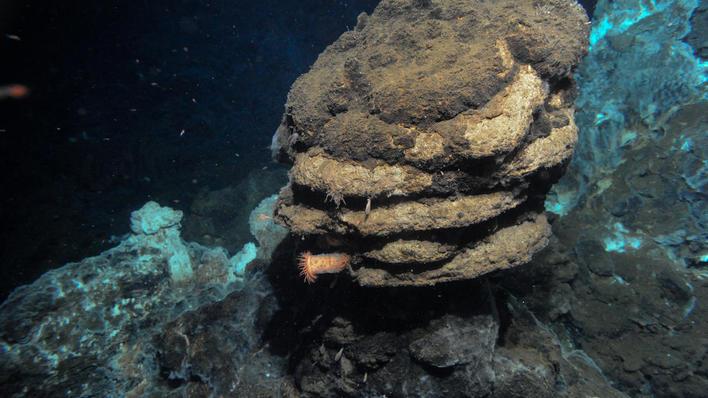Volcanoes under the sea