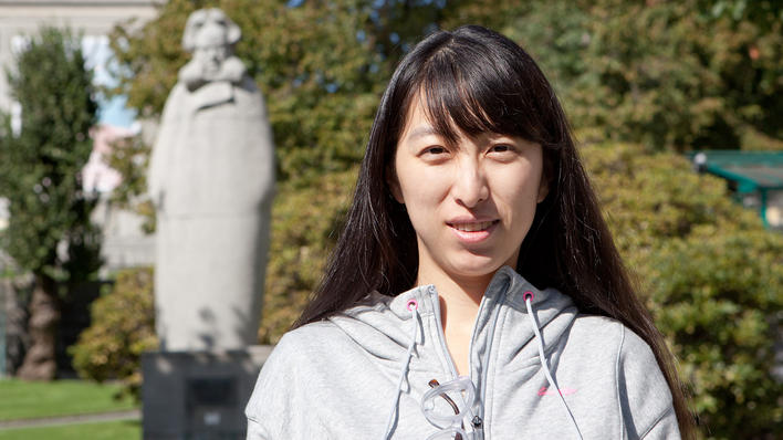 Yilin Yuan, gjestestipendiat ved LLE 2014-15