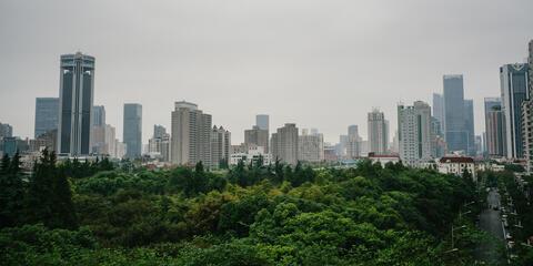 Beijing from a far