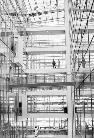 Interior from the UiB laboratory building