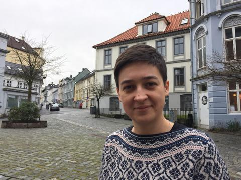 Anna Szolucha, Department of Social Anthropology, University of Bergen (UiB), photographed in March 2017.