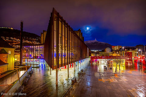Grieghallen i Bergen, Norway