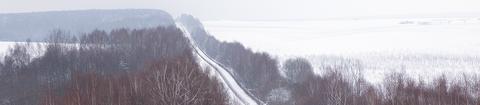 Frontier in winter