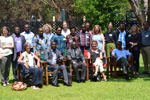 Group meeting Annual meeting Zambia