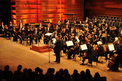 Concert with Bergen philharmonic orchestra in Grieghallen