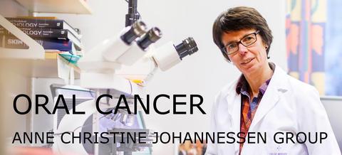 Anne Christine Johannessen in her office.