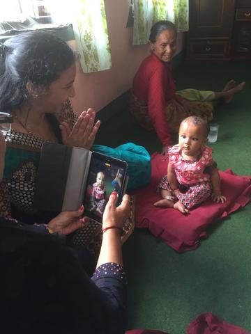 Nepal home visit
