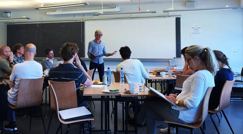 Ivar Nordmo teaching the Basismodule kurs