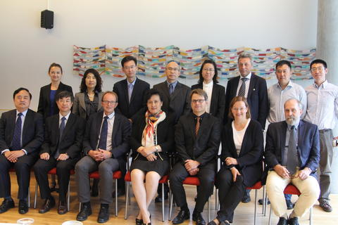 Chinese delegation at UiB