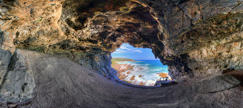 WHERE IT ALL BEGAN: Blombos Cave tells the story of mankind's early ancestors. There are now plans for an archaeologically themed museum close to the site. Photo: TRACSYMBOLS