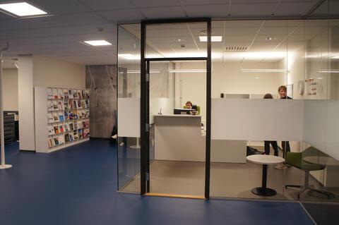 Informasjonssenteret i 1. etasje i Christies gate 12