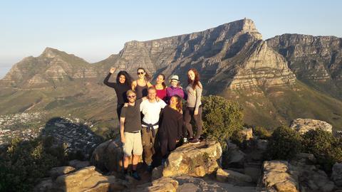 Studenter i Sør-Afrika