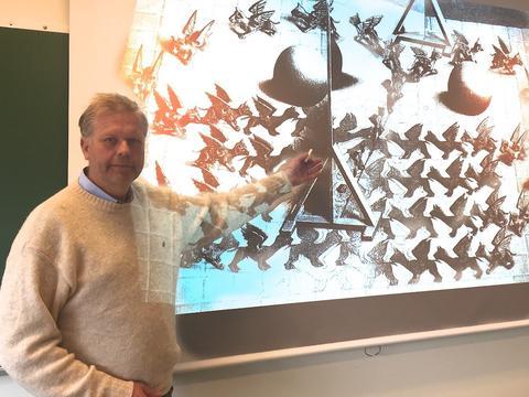 Kursansvarlig professor Hans Munthe-Kaas