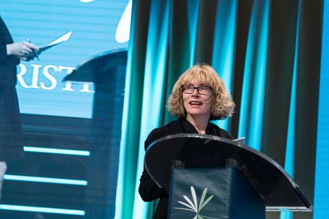 Toril Moi på Christiekonferansen