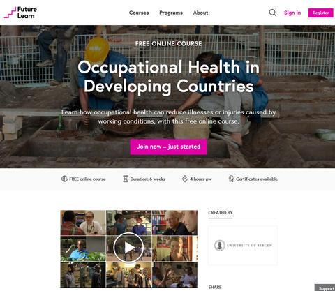 MOOC in Occupational Health