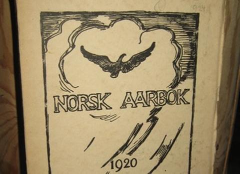 Faksimile av Norsk Aarbok 1920