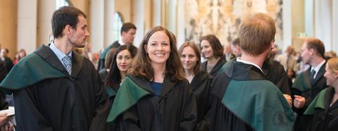 Doktorpromosjon i universitetsaulaen