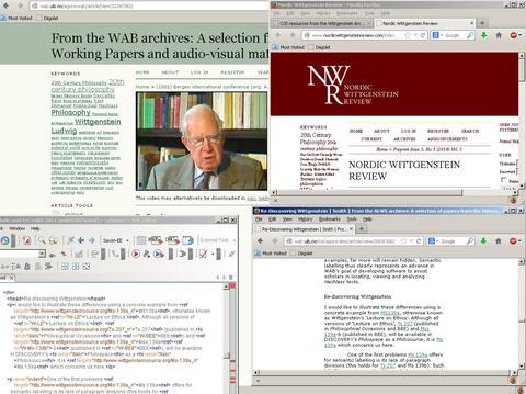 Screenshot av OJS-ressurser